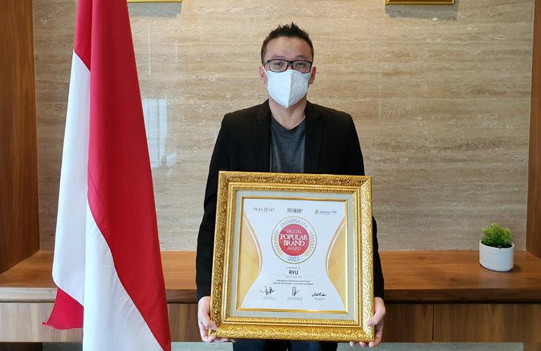 Ryu Powertools Raih Penghargaan Indonesia Digital Popular Brand 2021